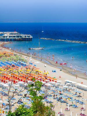 Bandiere Blu 2019, Marche: spiaggia di Gabicce Mare fra le vincitrici