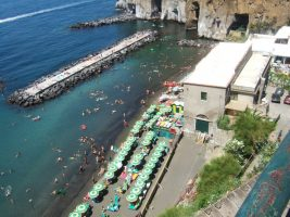 Spiaggia Marina di Cassano, Piano di Sorrento, Campania