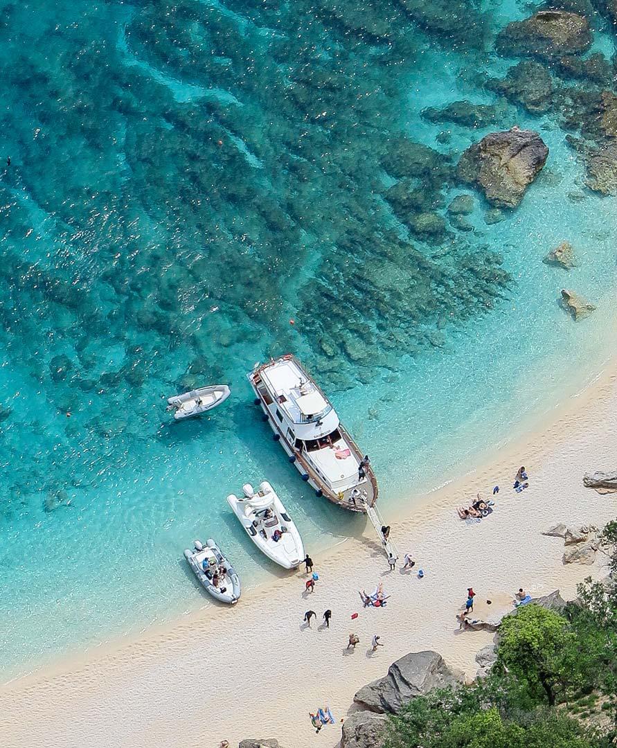 Gita in barca La Maddalena, tour organizzati spiagge della Maddalena