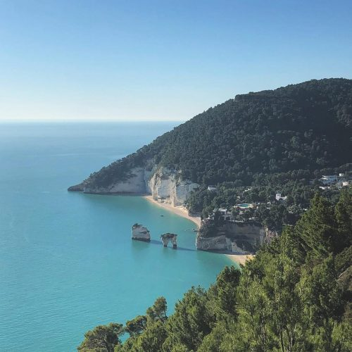 Spiagge del Gargano, Baia delle Zagare
