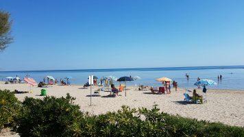 Spiaggia di Ponte Sasso di Fano, Marche