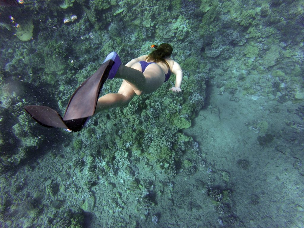 Snorkeling come sport