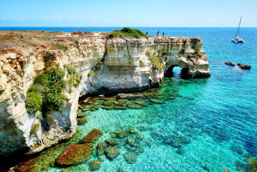 Spiagge italiane Puglia