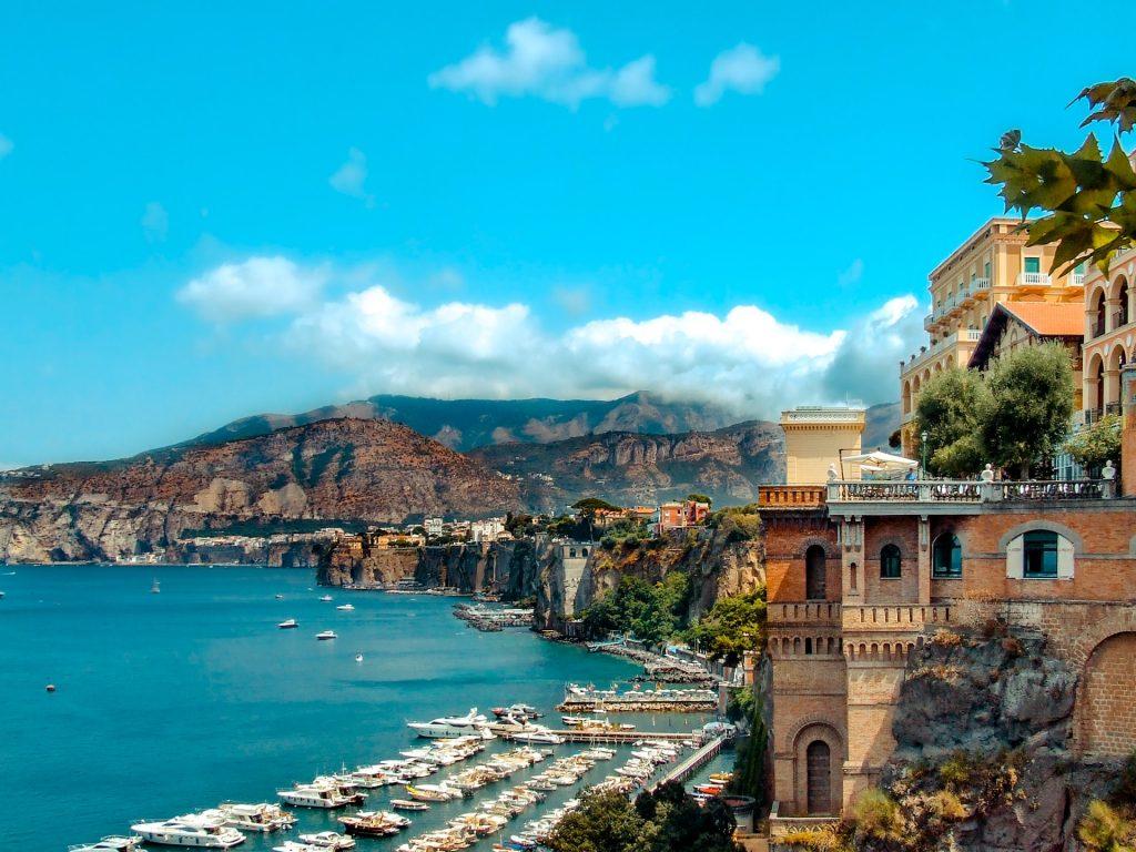 Spiagge in Campania: Marina Piccola Capri