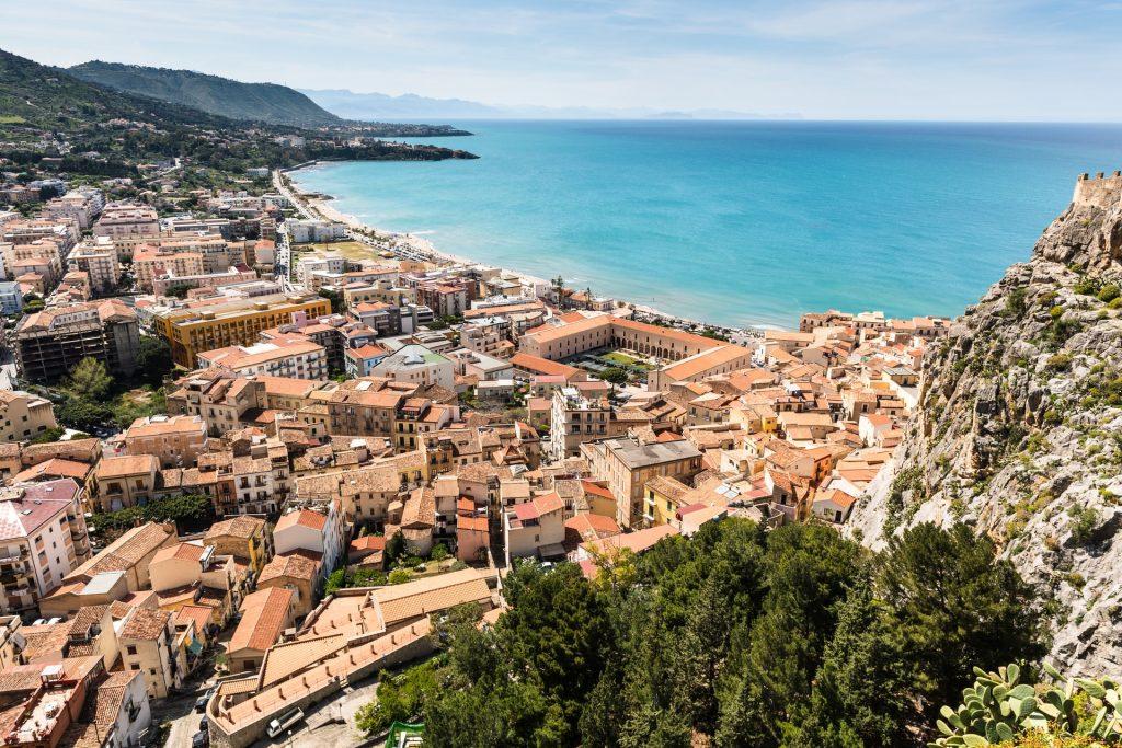 Spiagge in Sicilia Cefalù