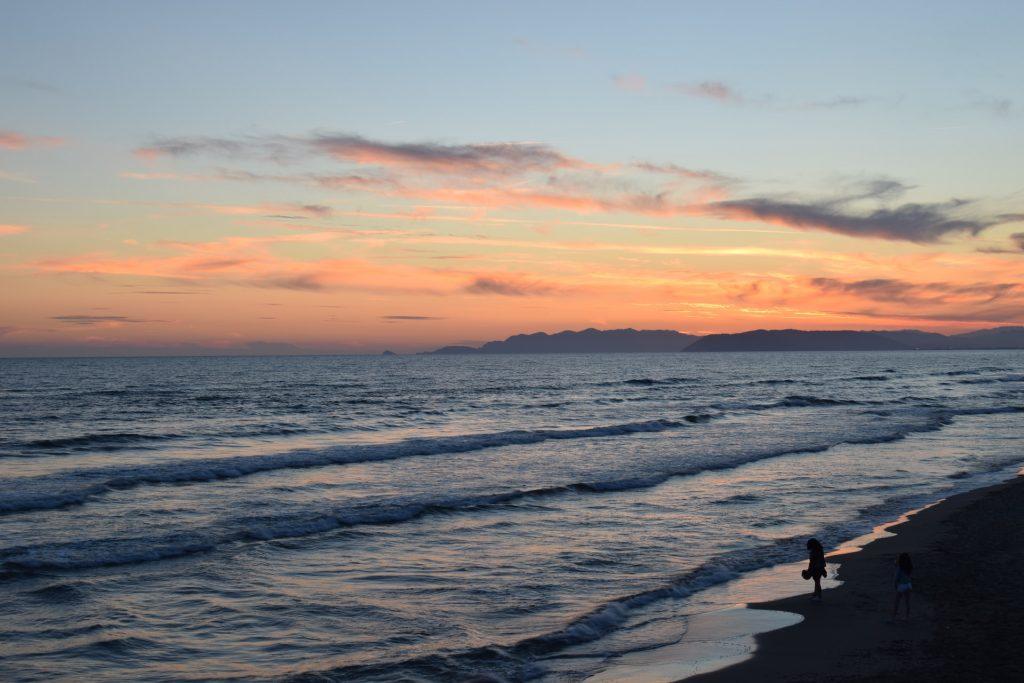 Tramonti in Spiaggia: Marina di Pietrasanta