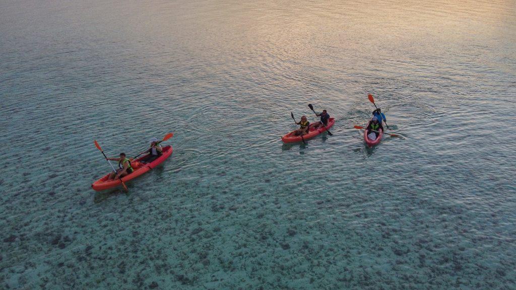 Canoa o Kayak dove usarli