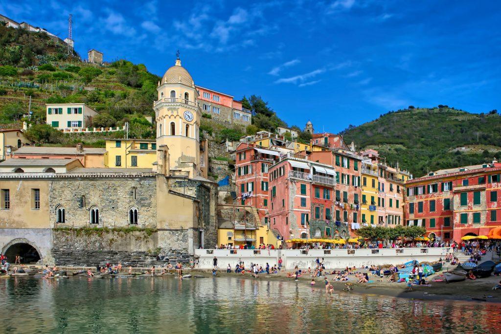 Spiagge in Liguria: Vernazza