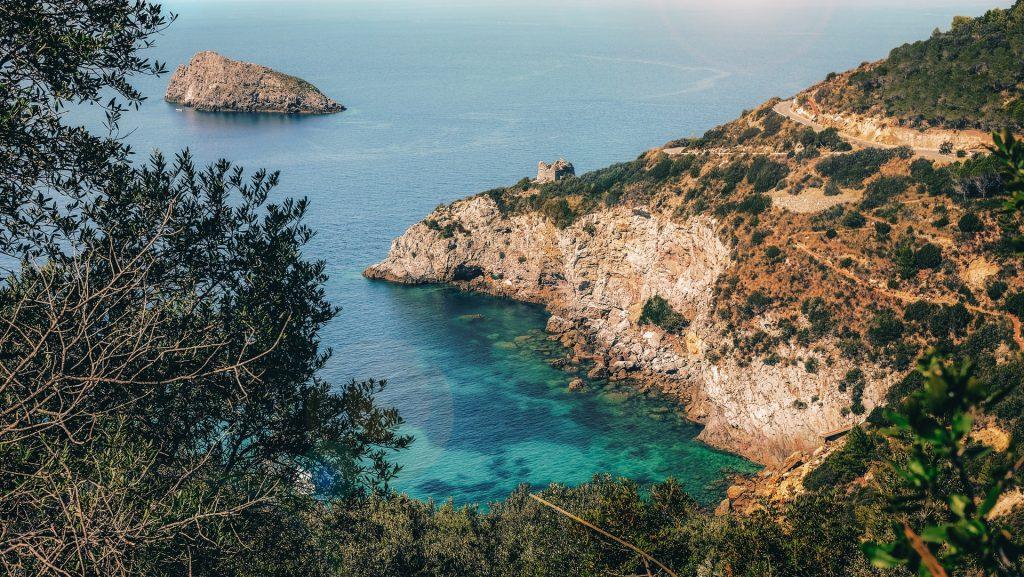 Spiagge in Toscana: Cala del Gesso