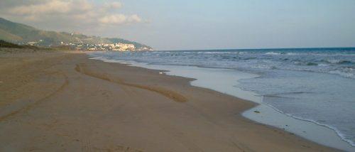 Spiaggia di Capratica